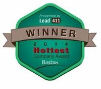 Lead411-Boston-Hottest-Company-Award-2014