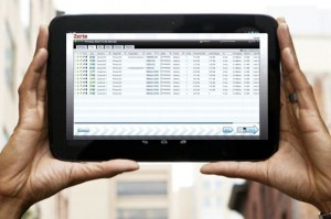 disaster recovery on a tablet