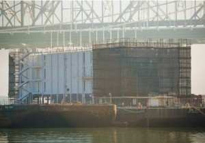 Google floating data center barge