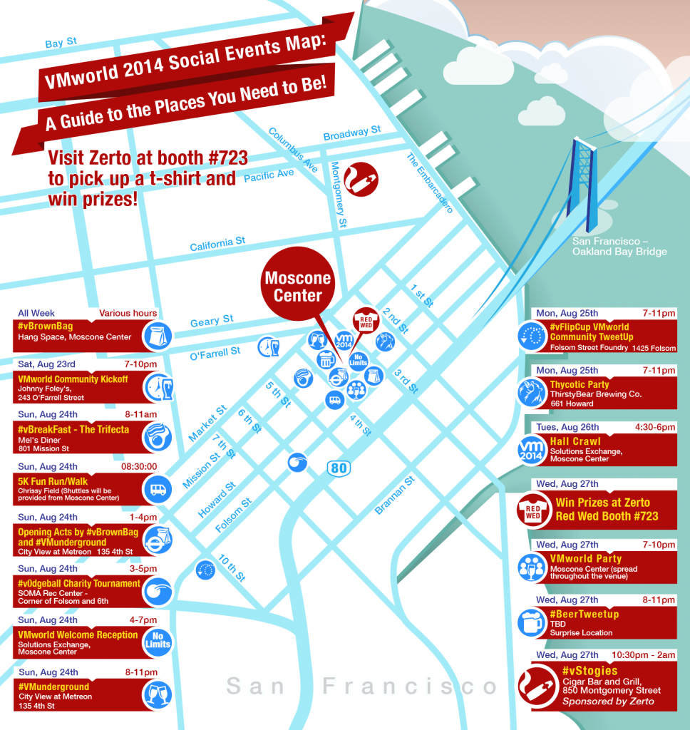 VMworld2014-Social-Events-Map