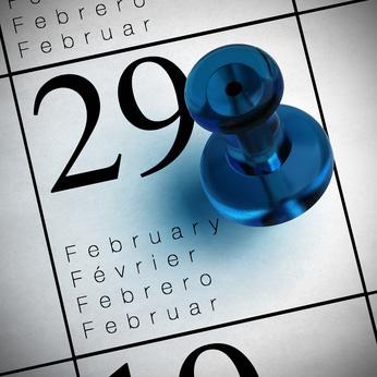 29 fvrier, anne bissextile, date calendrier