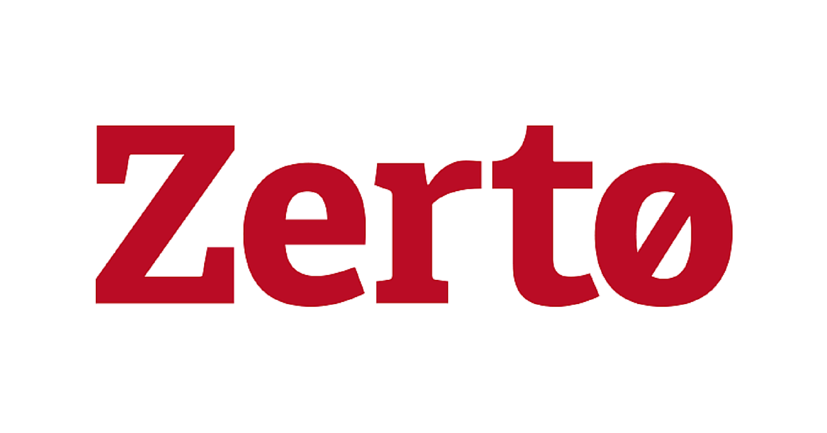 Image result for zerto logo
